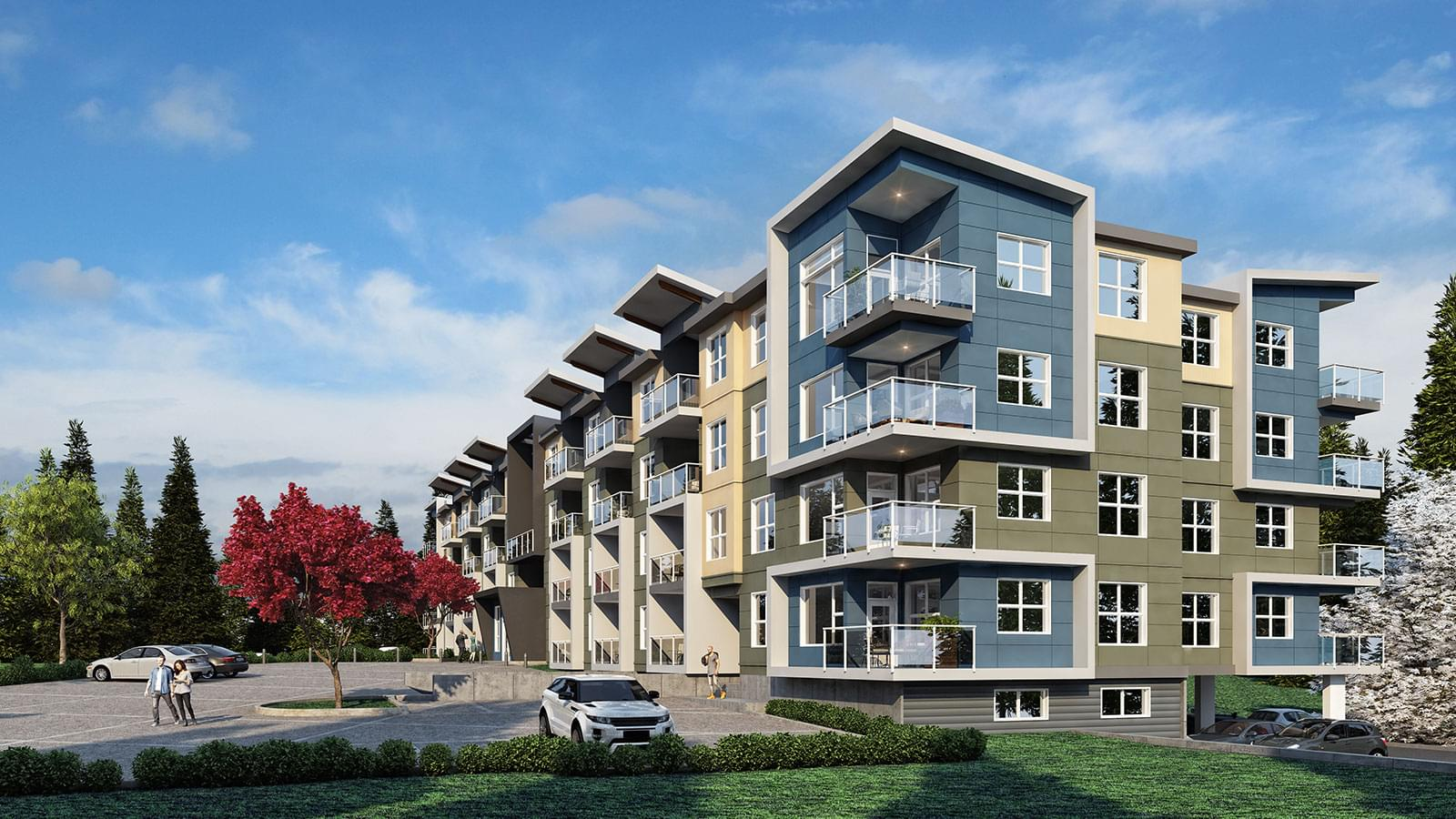 Hub at Pacific Station features 60 Stylish one and two bedroom apartments. All include dens, spacious balconies, and plenty of natural light.